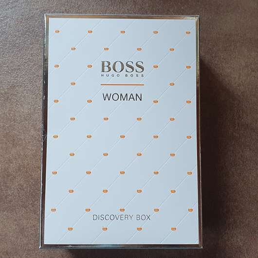 HUGO BOSS Orange Woman Discovery Box