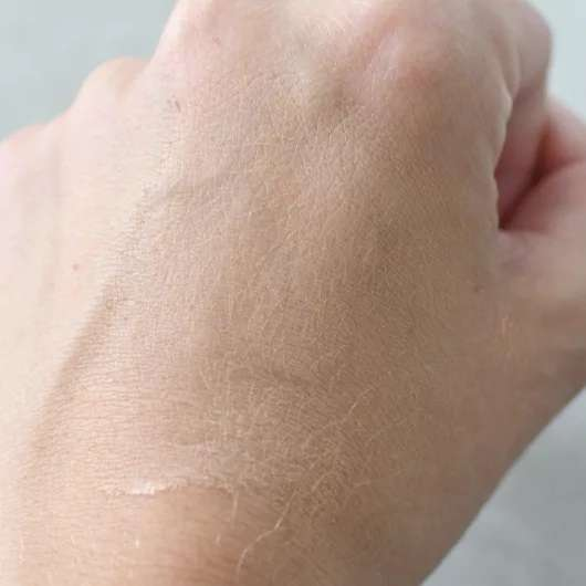 Swatch - IsaDora Skin Beauty Perfecting & Protecting Foundation SPF 35, Farbe: 03 Nude