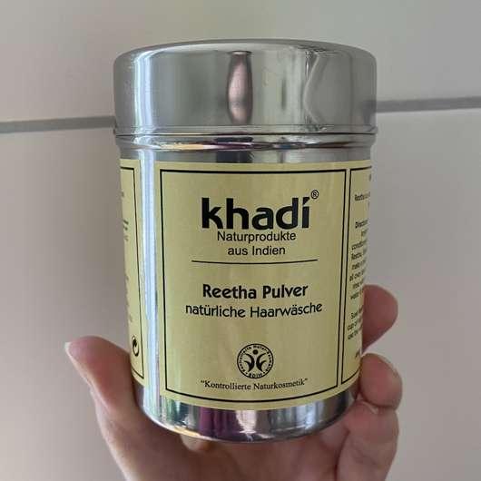 Khadi Reetha Pulver natürliche Haarwäsche