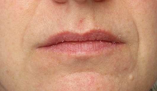 Lippen mit LUSH Bubblegum (Lip Scrub)
