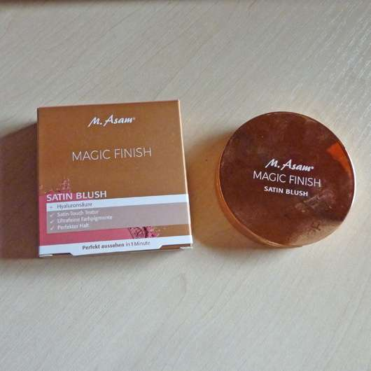 M. Asam MAGIC FINISH Satin Blush, Farbe: Peachy Rose