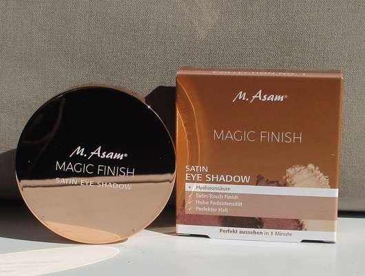 M. Asam MAGIC FINISH Satin Eye Shadow Collection No. 1