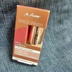 Produktbild zu M. Asam MAGIC FINISH Satin Lipstick – Farbe: Almond
