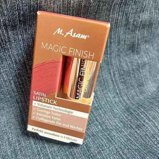 M. Asam MAGIC FINISH Satin Lipstick, Farbe: Almond