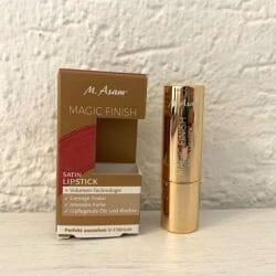 Produktbild zu M. Asam MAGIC FINISH Satin Lipstick – Farbe: Rosewood