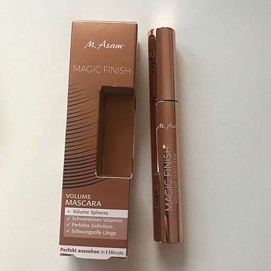 M. Asam MAGIC FINISH Volume Mascara, Farbe: Deep Black
