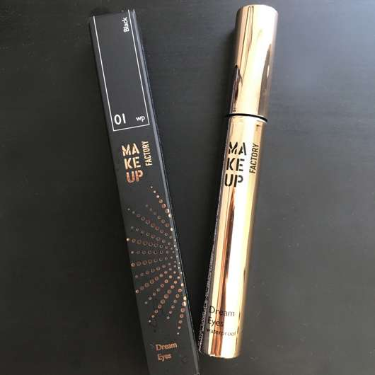 Make up Factory Dream Eyes Mascara waterproof, Farbe: 01 Black (LE)