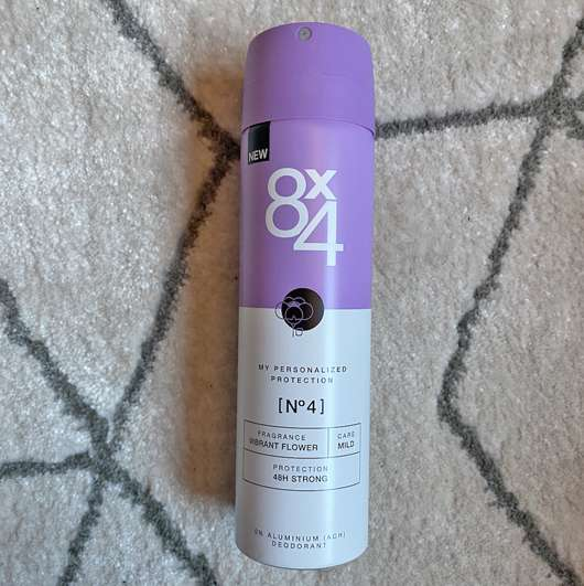 <strong>8×4</strong> No. 4 Vibrant Flower Deodorant Spray