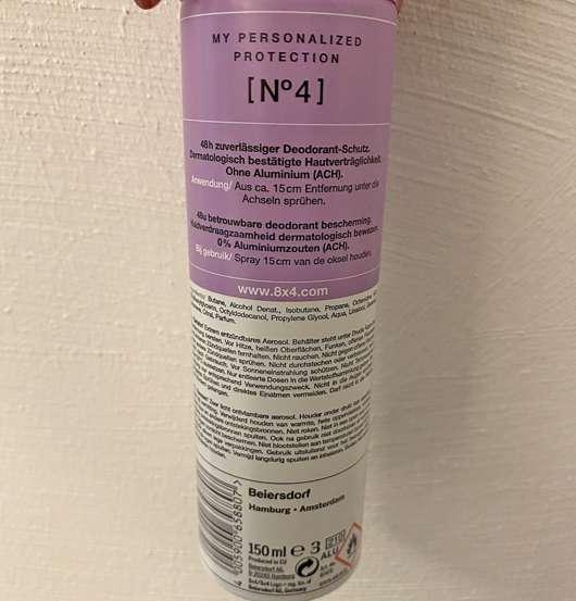 8x4 No. 4 Vibrant Flower Deodorant Spray