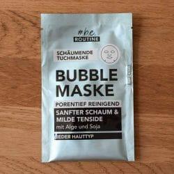 #be routine Bubble Maske