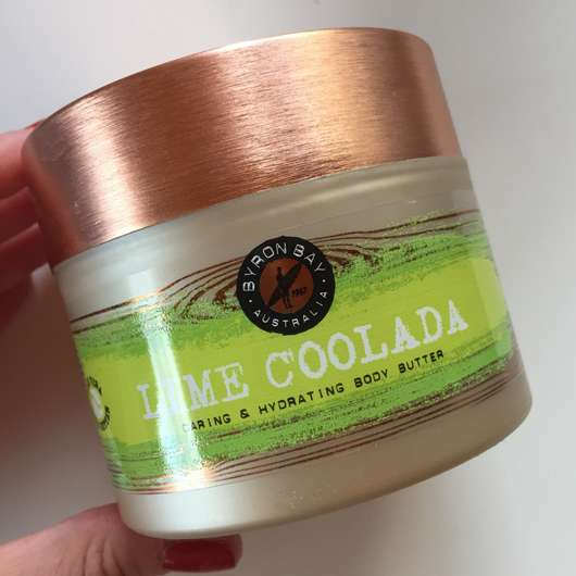BYRON BAY AUSTRALIA Lime Coolada Caring & Hydrating Body Butter