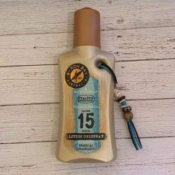 Produktbild zu BYRON BAY AUSTRALIA Lotion Gelspray LSF 15 (Tropical Fragrance)