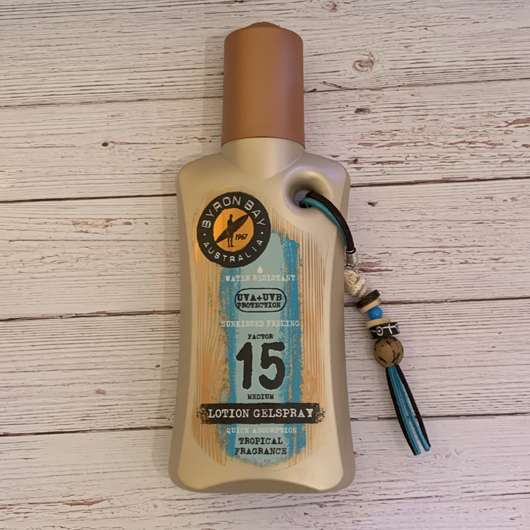 <strong>BYRON BAY AUSTRALIA</strong> Lotion Gelspray LSF 15 (Tropical Fragrance)