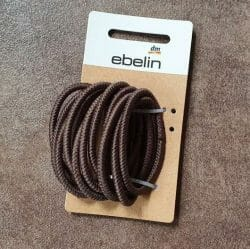 Produktbild zu ebelin Struktur Haargummis – Farbe: Braun