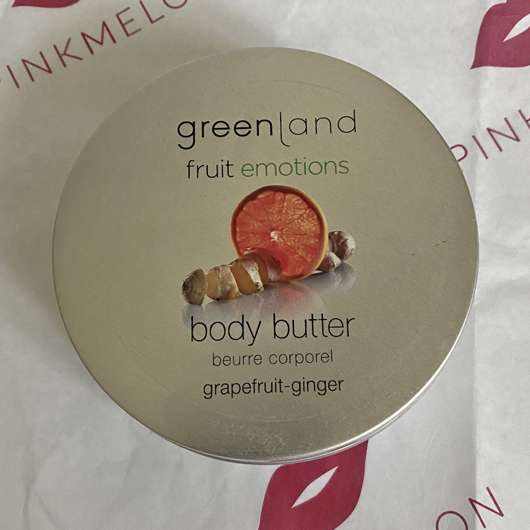 <strong>Greenland</strong> Body Butter Grapefruit-Ingwer