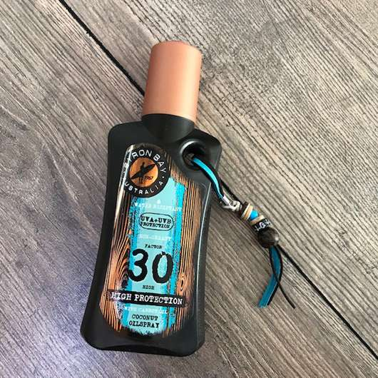 <strong>BYRON BAY AUSTRALIA</strong> Coconut Oilspray LSF 30 (mit Kokosduft)