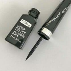 IsaDora Glossy Eyeliner Waterproof, Farbe: 40 Chrome Black