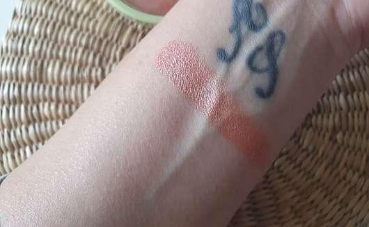 Pixi +C Vit Glow-y Powder, Farbe: Peach Dew - Swatch