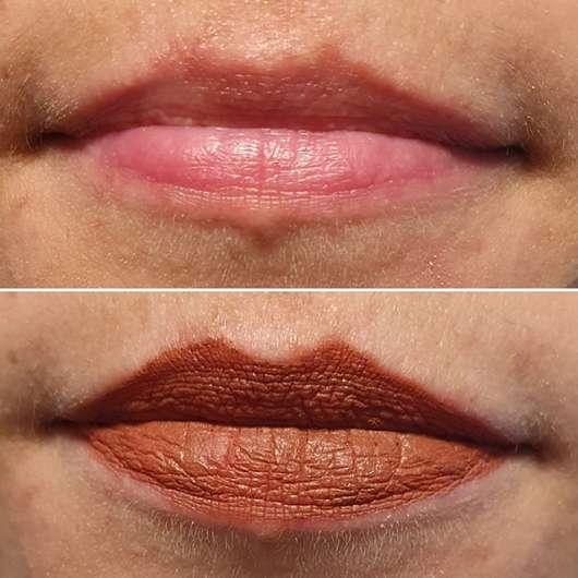 Lippen ohne/mit RIVAL loves me Mattitude Long-Lasting Lip Kit, Farbe: 05 desirable