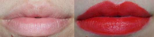 Lippen ohne/mit trend IT UP Color Lip Tint, Farbe: 020
