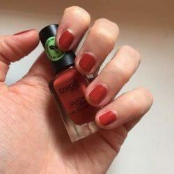 Nägel mit zwei Schichten - trend IT UP Quick Dry Nail Polish, Farbe: 075