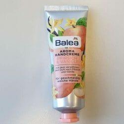 Produktbild zu Balea Aroma Handcreme Pfirsich & Vanille