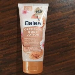 Produktbild zu Balea Creme-Öl Bodylotion mit Mandelöl und Marulanussduft (LE)
