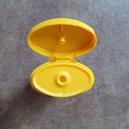 Balea Cremedusche Milch & Honig - Dosieröffnung