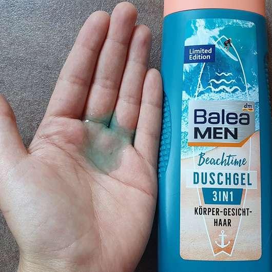 Balea Men Beachtime Duschgel (LE) - Konsistenz