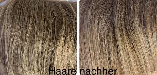 Balea Trockenshampoo Schaum Lovely Flower - Haare nach der Anwendung