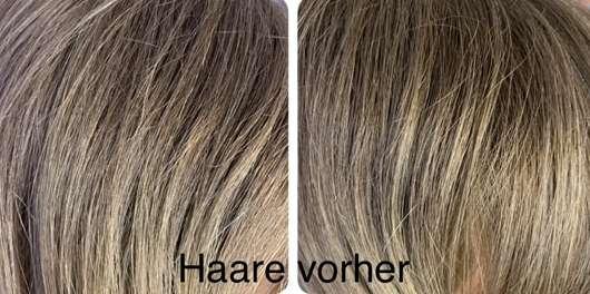 Balea Trockenshampoo Schaum Lovely Flower - Haare vor der Anwendung