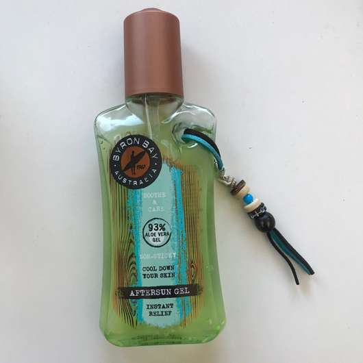 <strong>BYRON BAY AUSTRALIA</strong> After Sun Gel Instand Relief