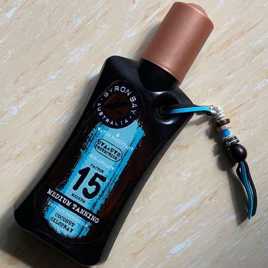 <strong>BYRON BAY AUSTRALIA</strong> Coconut Oilspray LSF 15 (mit Kokosduft)