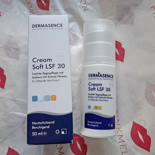 DERMASENCE Cream Soft LSF 30