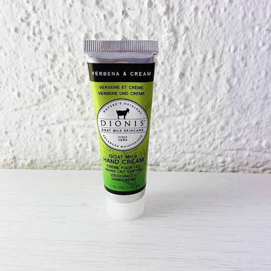 "<strong>Dionis™</strong> Goat Milk Hand Cream ""Verbena & Cream"""