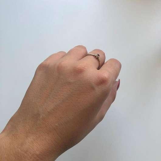 """DIONIS Goat Milk Hand Cream """"Verbena & Cream"""" - Haut nach dem Verreiben"""
