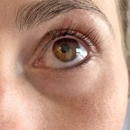 Wimpern nachher - ebelin Wimpernformer (mit 2 Ersatzgummis)