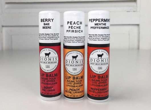 DIONIS Goat Milk Lip Balm Trio