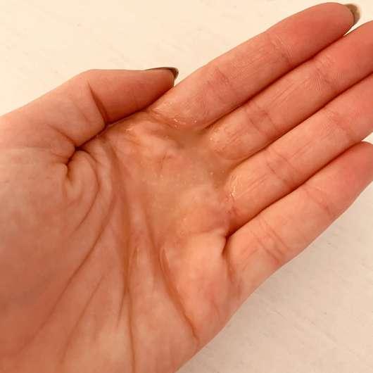 Pomélo + Co. VANILLA BOOST Repairing Hair Treatment coconut + almond oil - Konsistenz