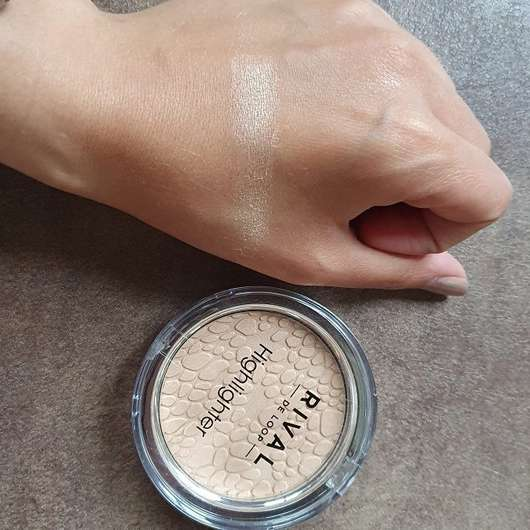 Rival de Loop Highlighter, Farbe: 02 Gold - Swatch