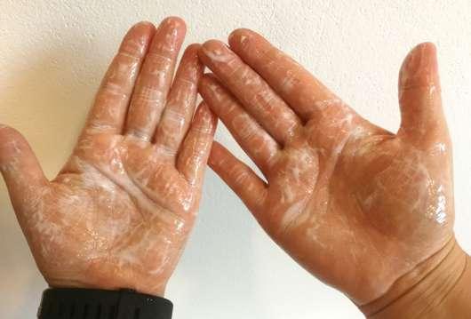 SANTE Family Glanz Shampoo Bio-Birkenblatt & pflanzliches Protein - Konsistenz aufgeschäumt