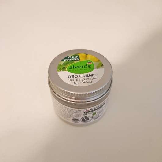 alverde Deo Creme Bio-Bergamotte & Bio-Minze