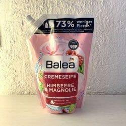 Produktbild zu Balea Cremeseife Himbeere & Magnolie (Nachfüllpackung)