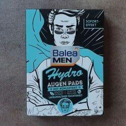Produktbild zu Balea Men Hydro Augenpads mit Kühleffekt