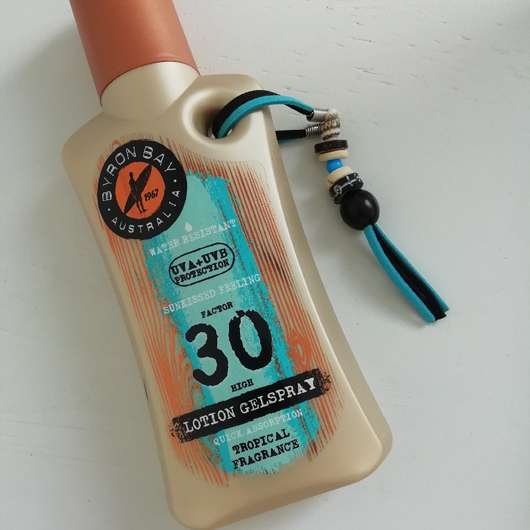 <strong>BYRON BAY AUSTRALIA</strong> Lotion Gelspray LSF 30 (Tropical Fragrance)