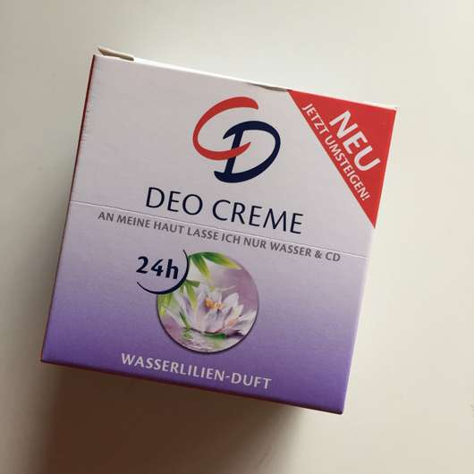 <strong>CD</strong> Deo Creme Wasserlilien Duft