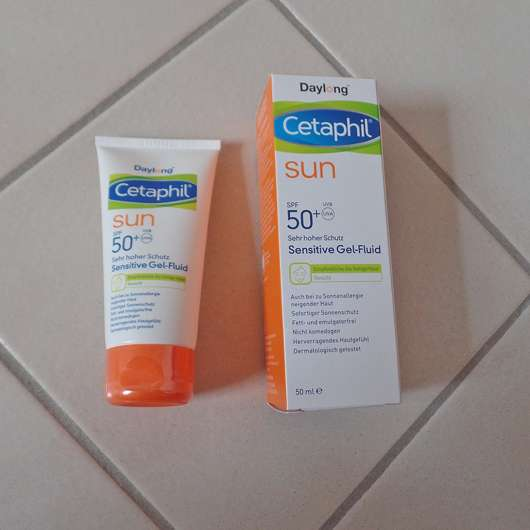 <strong>Cetaphil® Sun Daylong™</strong> SPF 50+ Sensitive Gel-Fluid