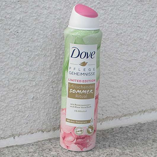 <strong>Dove</strong> Pflege Geheimnisse Erfrischendes Sommer Ritual Anti-Transpirant Spray (LE)