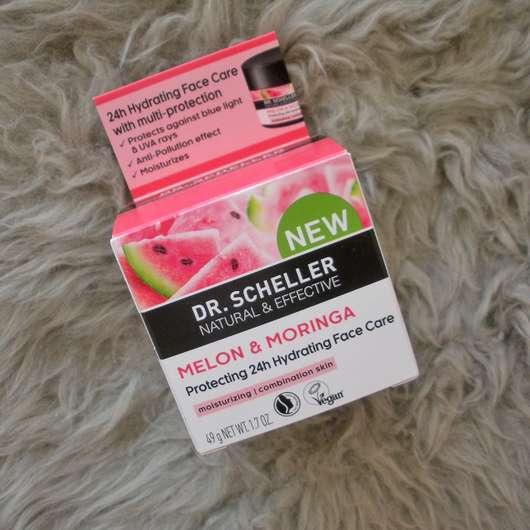 Dr. Scheller Melone & Moringa Schützende 24h Feuchtigkeitscreme