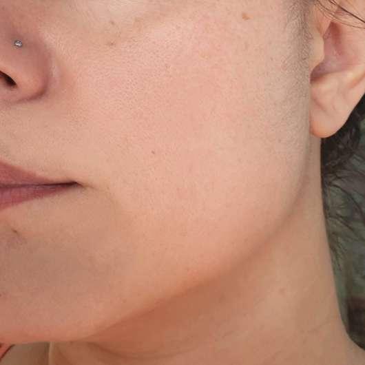 Dr. Scheller Melone & Moringa Schützendes 24h Feuchtigkeitsfluid - Haut nach Testende